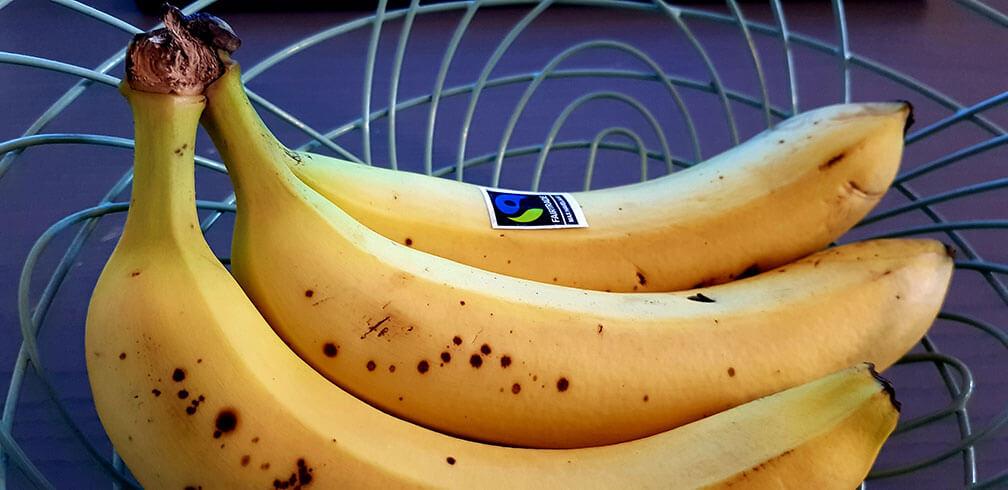 Een ouderwetse banaan in je achterzak is altijd een goed idee!