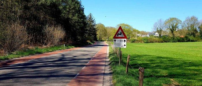 De Oude Kleefsebaan bij Nijmegen