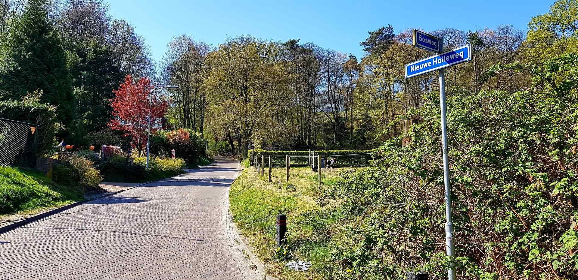De Nieuwe Holleweg in Beek