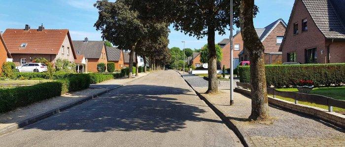 De Heidestrasse bij Nijmegen