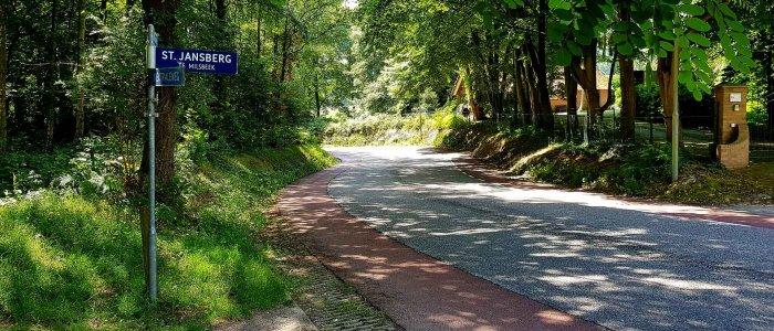 De Sint Jansberg klim bij Milsbeek