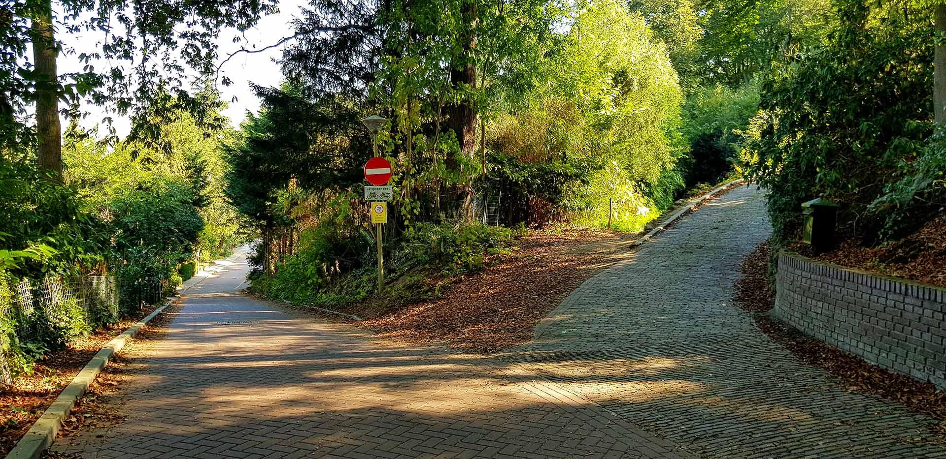 De Van der Veurweg in Beek bij Nijmegen