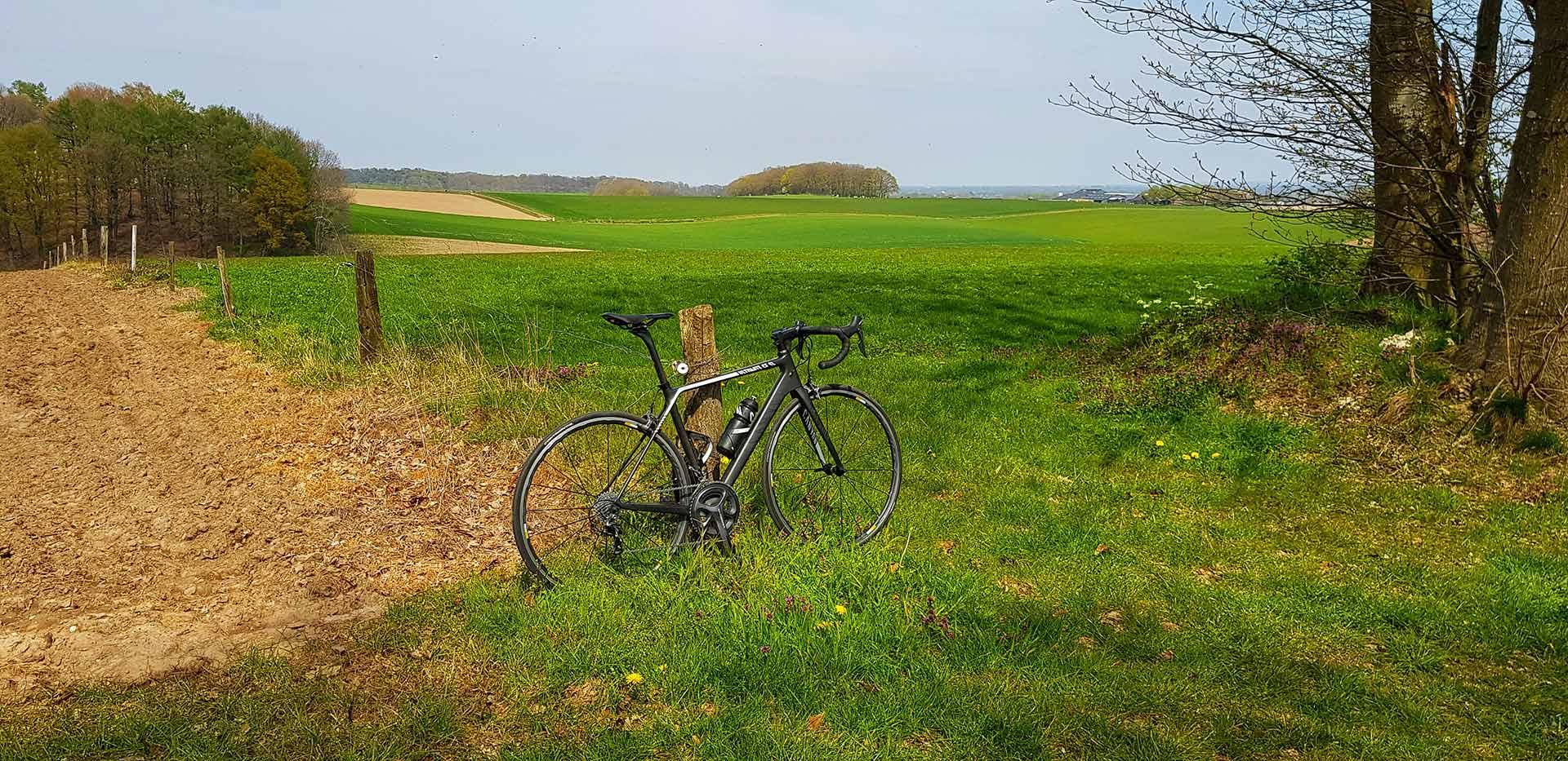Uitzicht over heuvelland vanaf de Derdebaan bij Groesbeek